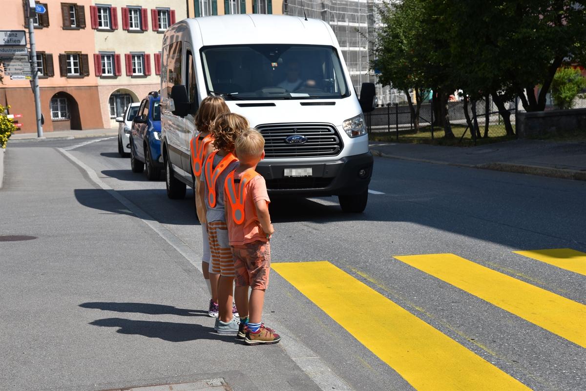 Graubünden: Botschaft für die Verkehrsteilnehmenden zum Schulbeginn 2018