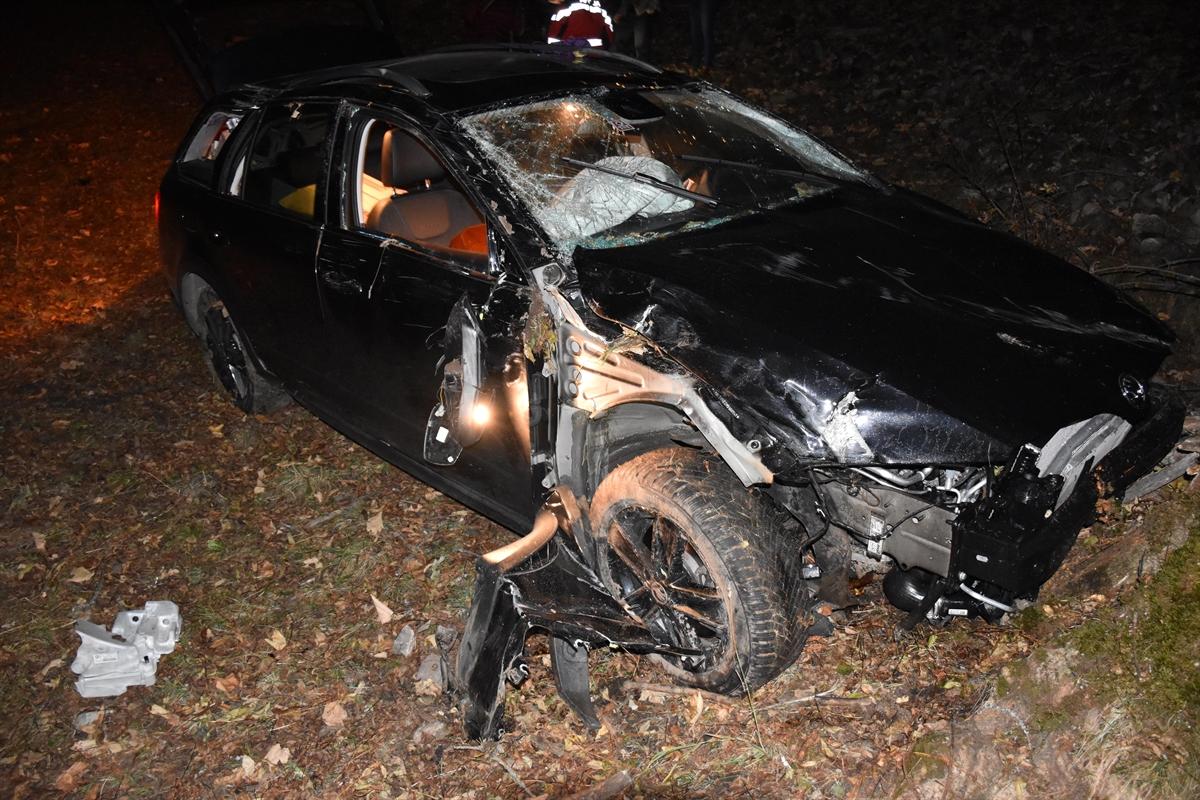 Peist: Personenwagen durchbricht Bündnerzaun