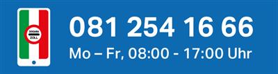 Hotline für Grenzgänger: +41 (0)81 254 16 66