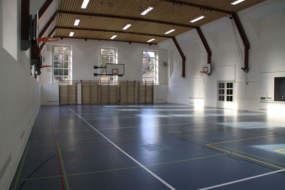 Alte Halle innen