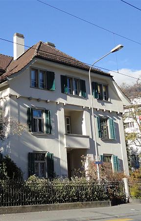 Lokalität der Fachstelle Integration Graubünden