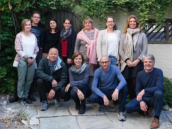 Team der Fachstelle Integration Graubünden
